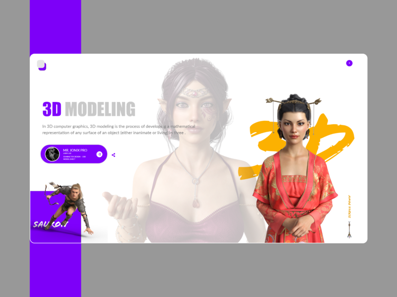 3d modalling website Home page behance branding illustration concept attractive adobe xd graphics design website 3d animation 3d artist uiux 3d art typogaphy illstration 3d