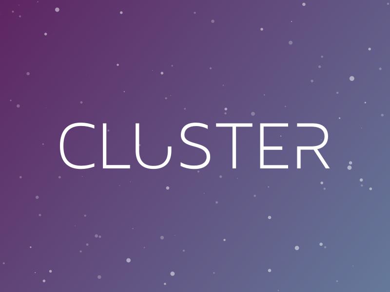 Cluster - Logo by Roman Antes | Dribbble | Dribbble