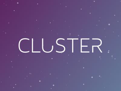 Cluster - Logo
