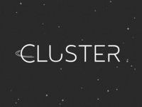 Old prototype of Cluster logo