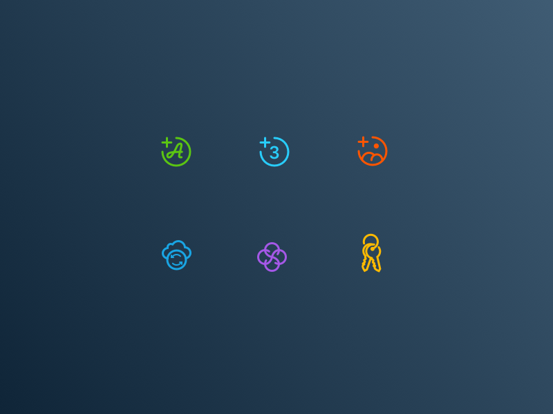 Focus icons   extras