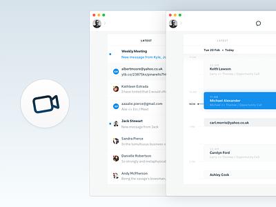 Meeto WIP osxapp app rooms meetings calendar messaging video conferenceapp saynotoskype