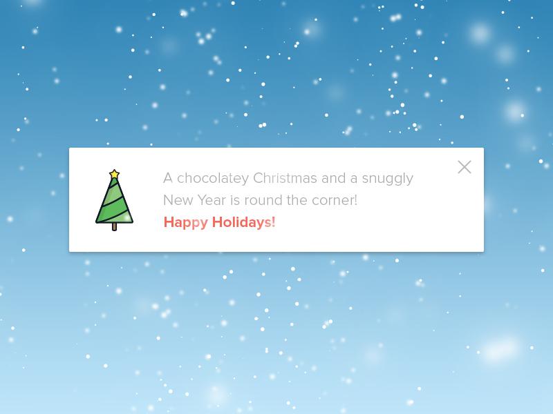 Season Greetings - Christmas & Happy New Year xmas santa exzeo season ux ui greetings