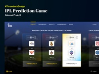 [Concept] IPL Prediction Game Design - with Minimum Graphics