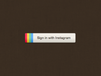 Instagram CSS Button