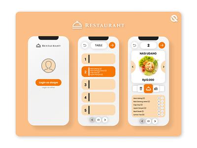 Restaurant app mobile mobile ui mobile app uiuxdesign uiux restaurant art app ux ui branding mobile