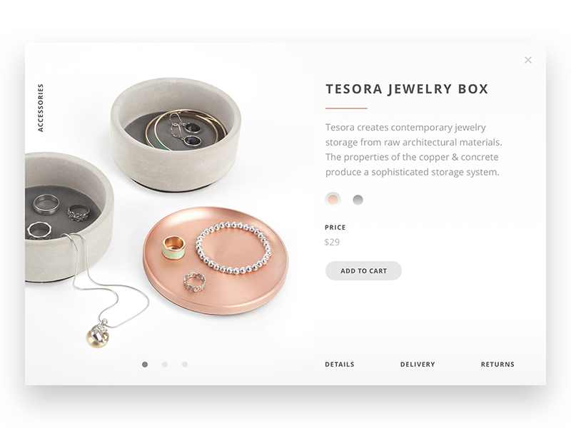 E-Commerce Free Download quick view product detail e-commerce product cart shopping design web ui