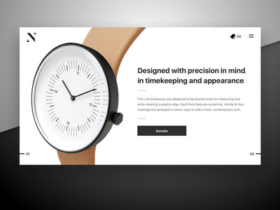 Daily UI / Day 012 shop ecommerce e-commerce watch 100daysofui dailyui