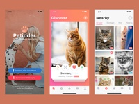 Petinder. - iOS Dating App for Pets
