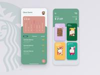 Starbucks Reserve iOS Mobile App