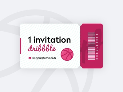 Invitation Dribbble illustration basketball 2020 dribbble invite giveaway dribbble invite dribbble ticket invite dribbble invitation