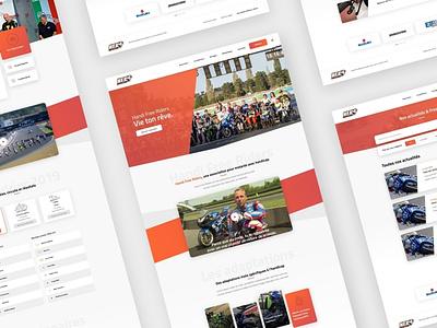Handi Free Riders Website association development webdesign motorsport moto