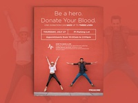 Procore Blood Drive Poster