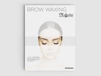 Eyebrow Waxing Poster