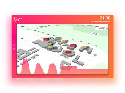Way desktop prototype maps 3d animation web mobile search ux university ui room finder navigation mapbox location ios ibeacons bournemouth app