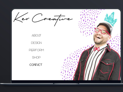 Website Revamp portfolio ui design ui procreate illustrator photoshop sketch web design website