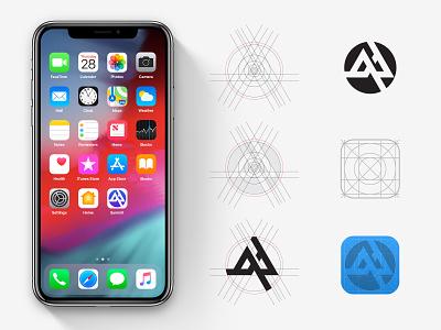 Daily UI#5 fibonacci geometric ios app design ios minimal icon design logo branding design icon ui ux app design app dailyui