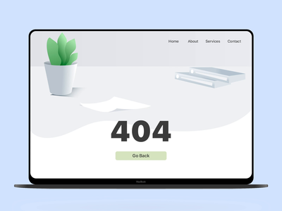 Daily UI#8 animation photoshop 404 error page 404page daily 100 challenge dailyui
