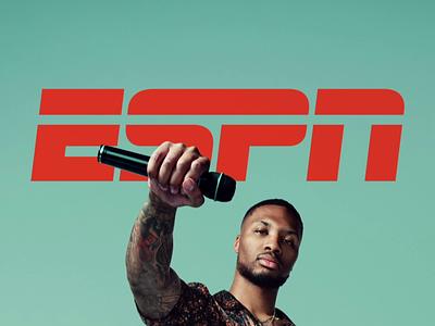 ESPN Cover Page redshift damian lillard cinema 4d 3d animation