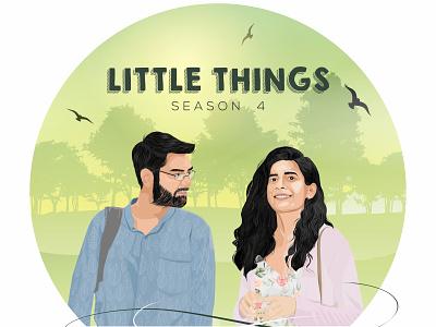 Little Things - Netflix vectorart vector illustration graphic design design