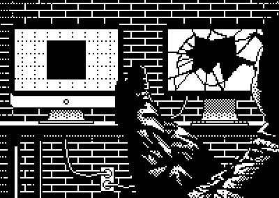 Hard Workin pixel black and white pixels illustration pixel art photoshop