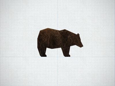 angular bear bear gometry grid logo symbol brown bear black bear grizzly polar bear geometric bear angular logo design