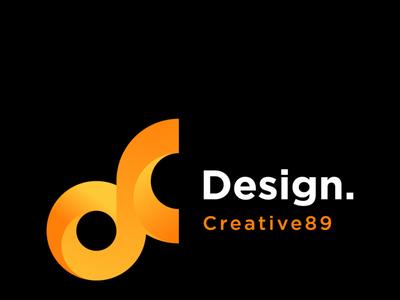 DC letter mark logo design
