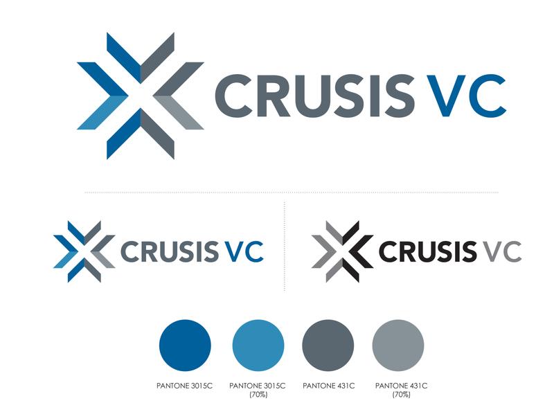 Crusis VC Logo Design logo identity design logo design branding