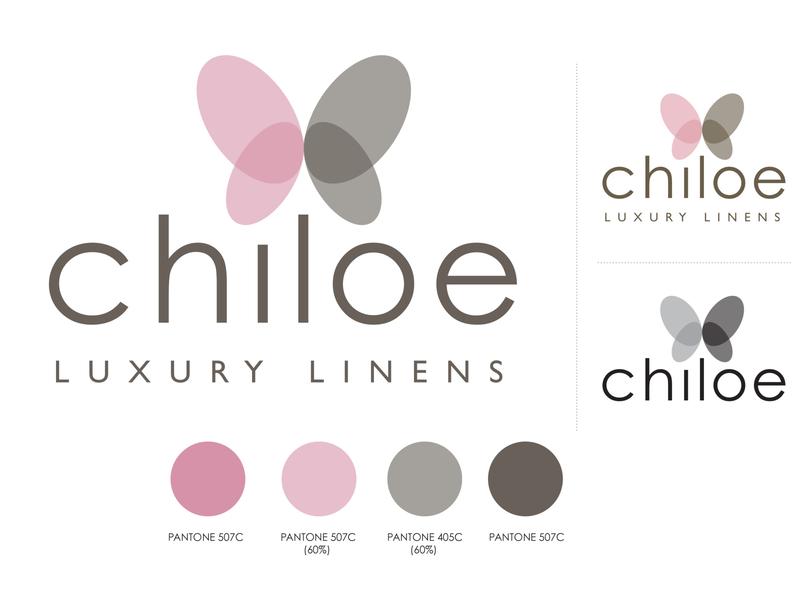 Chiloe Linens logo design logo identity design branding