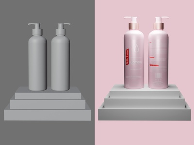 Body Lotion Design and mockup dribbble invite dribbble best shot dribbble body lotion mockup labeldesign branding packaging graphicdesign brand identity