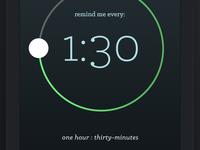 Five App - Set Timer