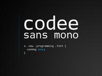 Codee Sans Mono