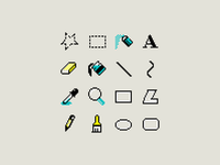 MS Paint Icons