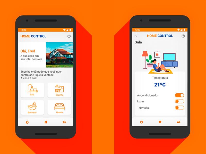 Home Monitoring Dashboard   Daily UI 021