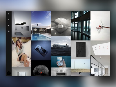 Muse clean inspiration grid