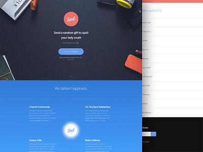 Spoil Launch spoil app spoilapp branding color colour mockup website nyc