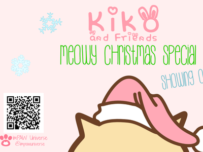 Kiko & Friends Christmas Special art sketching drawing cats animal illustration cartoon character design website video childrens illustration cute art comic cartoon short film digital art art illustration christmas animation 2d animation cat