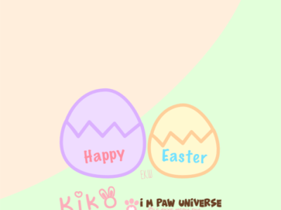 You Crack Me Up Kiko Easter 2021 cute bunny cute cat comics webcomics eggs easter eggs easter happy easter digitalart rabbit cute art artwork cats comic cartoon illustration design digital illustration comic art cartoon illustration