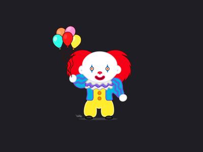 Pennywhise clown pennywise pennywhise digital painting digitalart digital art character characters digital illustration art artwork illustration