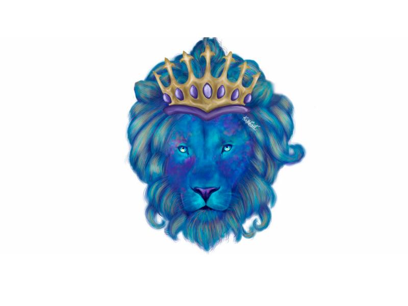 Lion king lionking lion digital art digital painting art digitalart characters character digital illustration artwork illustration