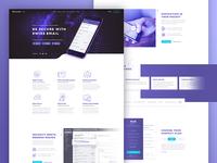 ProtonMail Landing Page Concept