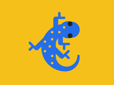 Feisty Gecko icon illustration art avatar reptile lizard animal gecko