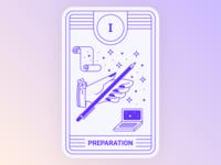 Application Tarot: Preparation