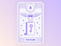 Application Tarot: Filing