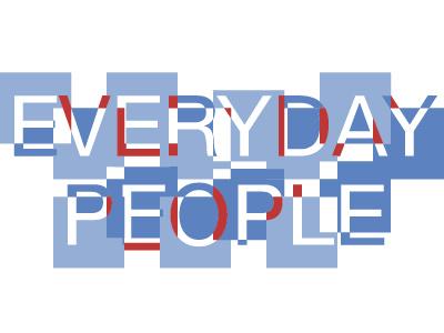 Everyday People Logo fireworks logo