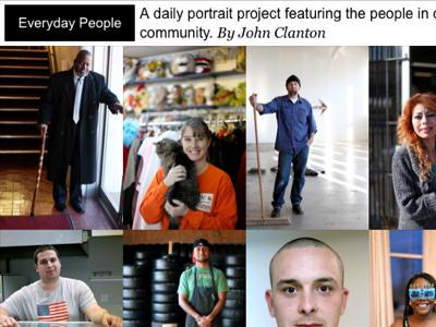 Everyday People web design responsive design