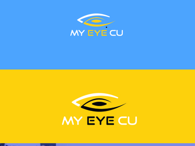 Eye logo animation app brand identity icon typography vector minimal logodesign flat brand design