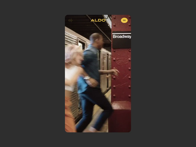 Aldo™ Step into Love ·  Unlock content interaction animation motion video cta interactive video slider mobile interaction interaction design boomrang mobile interactive interaction art direction animation