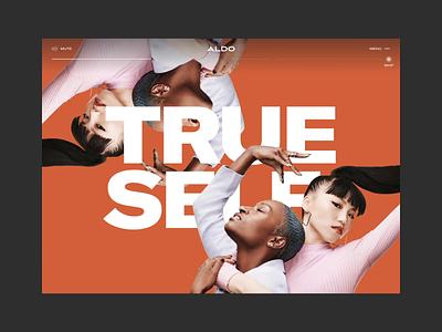 Aldo™ Step into Love ·  Desktop responsive story cursor video interactive desktop design interactive webdesign identity interface animation art direction branding typo typography