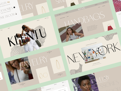 Keentu™ editorial homepage category page product page cart shopping fashion african african woman africa ecommerce shop sharp ux ui typo webdesign interactive art direction interface